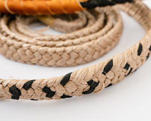 "Colored Brazilian Bull Rope 3/4"" Handle 3/4"" Soft Tail"