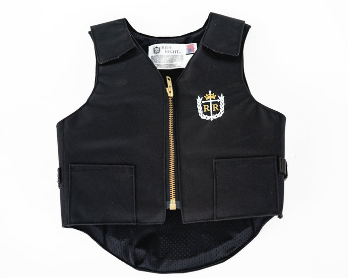 Ride Right Youth Competitor Vest - Non Ballistic