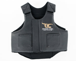 Crooked Horn Bullrider Pleather Rodeo Vest - Youth
