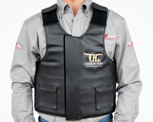 Crooked Horn All Around Rodeo Vest - Front