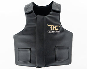 Crooked Horn All Around Rodeo Vest - Pleather