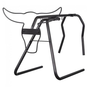 Metal Roping Dummy Black