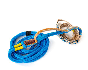 Colored American Calf Rope Blue