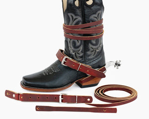 Adult Standard Spur Strap Package