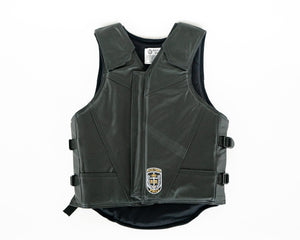 Ride Right Flex Thin Pro Adult Rodeo Vest - Leather