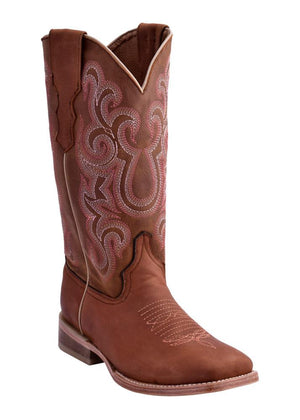 Ferrini Ladies Maverick Tan S-Toe