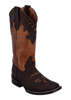 Ferrini Ladies Old West Chocolate S-Toe
