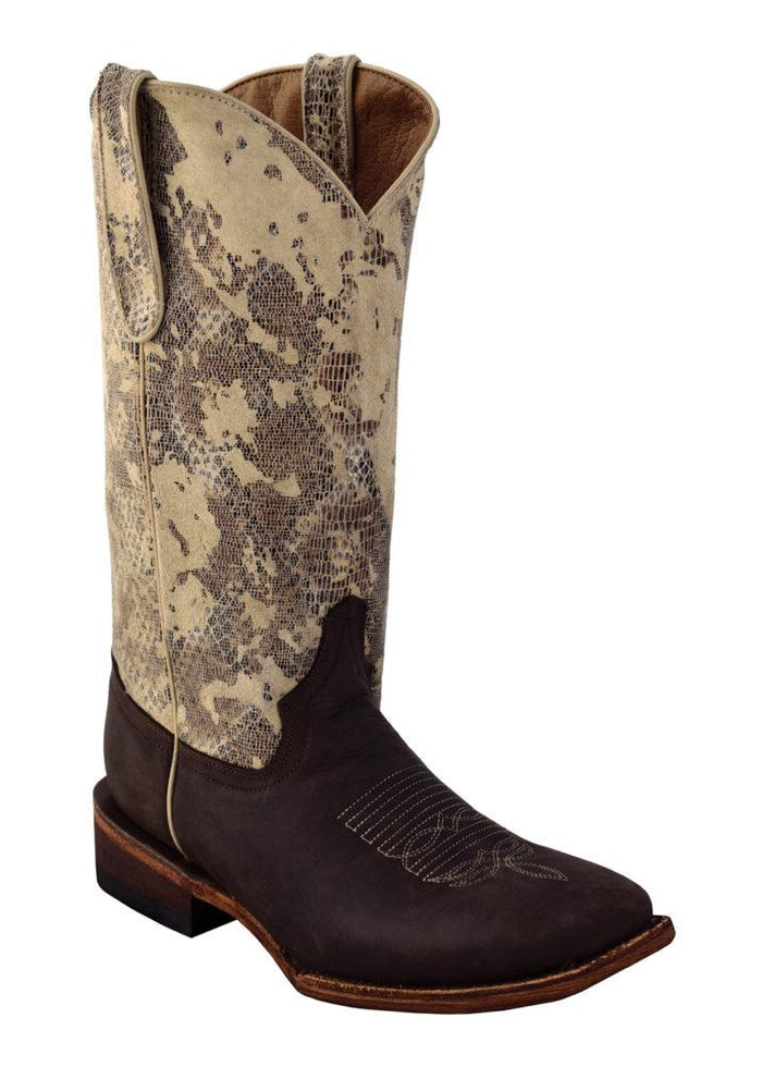 Ferrini Ladies Sand Storm Chocolate S-Toe