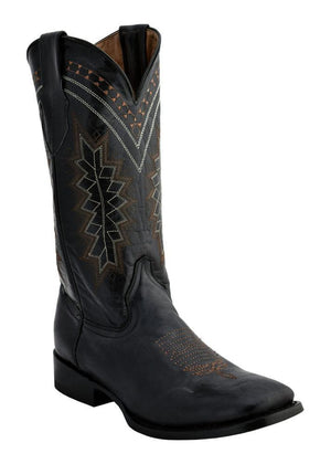 Ferrini Men's Apache Black S-Toe