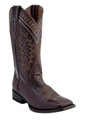 Ferrini Men's Apache Chocolate S-Toe