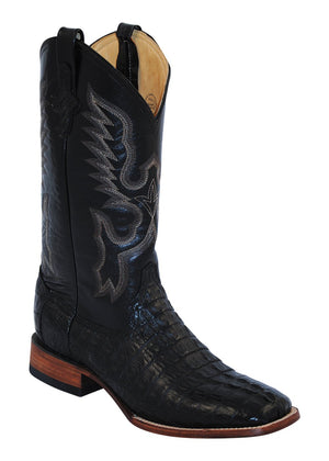 Ferrini Men's Caiman Body Black S-Toe