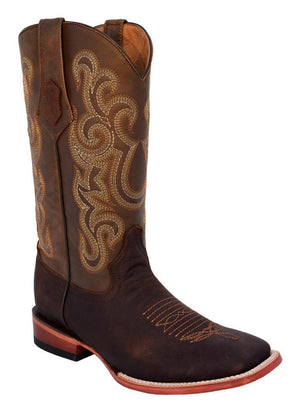 Ferrini Men's Maverick Chocolate S-Toe