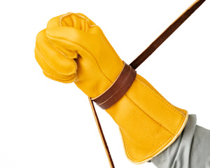 Adult Leather Glove Tie