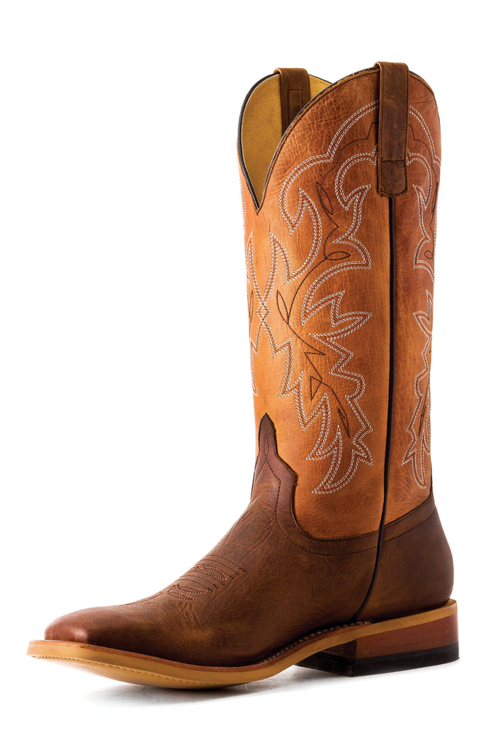 Horse Power Adult Boots - HP1838 Sugared Tang Bottom with Sugared Brass Top