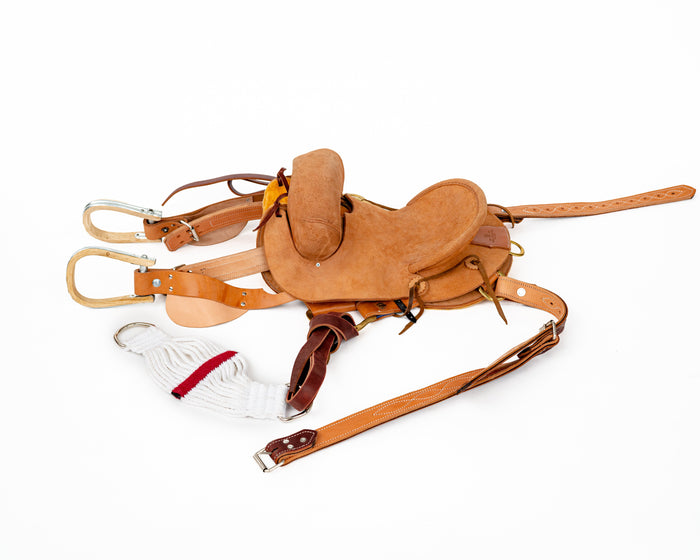 Beastmaster Junior Saddle Bronc Saddle Complete Set
