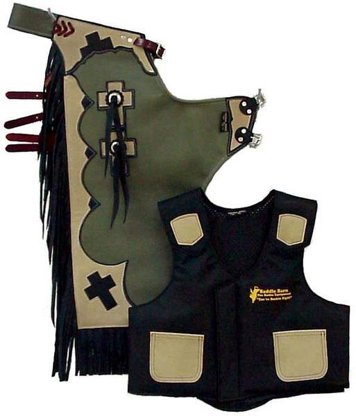 Junior Rodeo Chap / Vest Combo