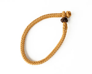 Tan Braided Rope Keeper