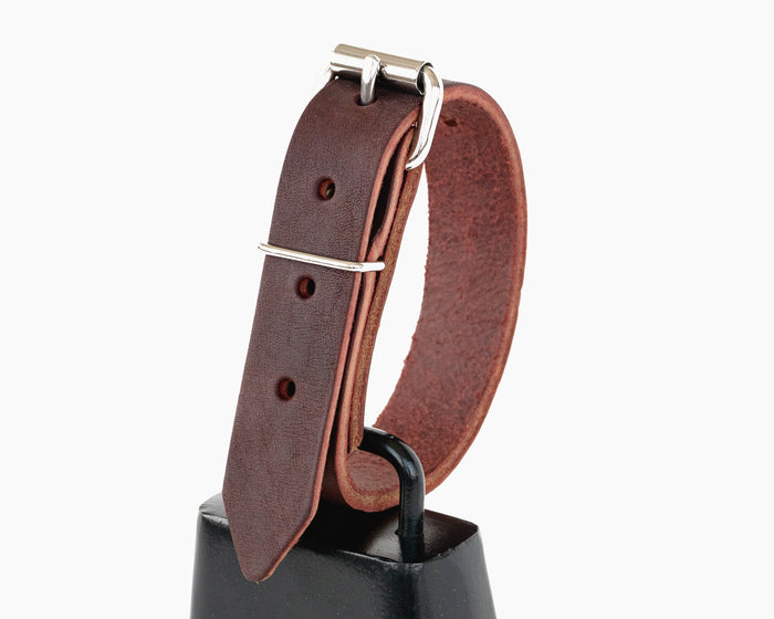 Large Leather Bull Bell Strap