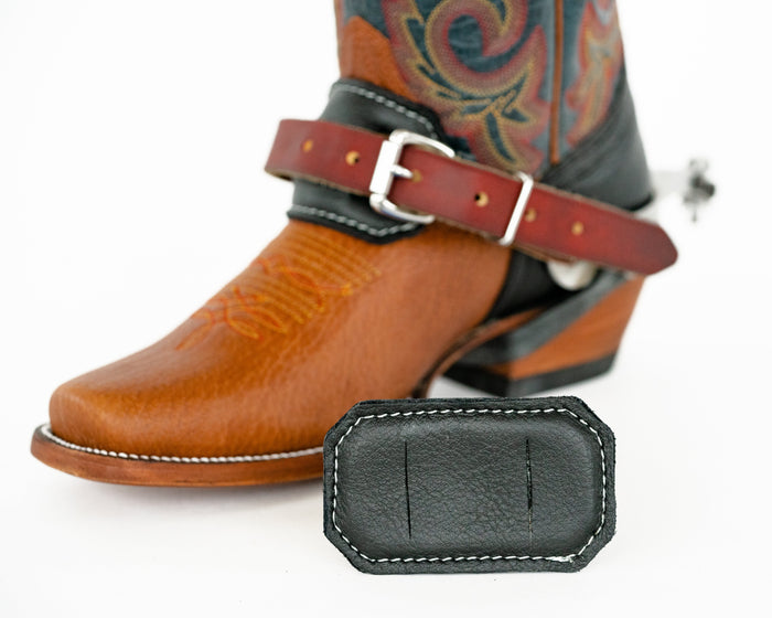Leather Spur Strap Cover