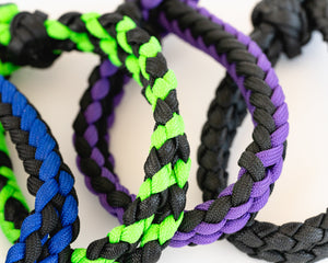 Bull Bell Strap - Black & Blue, Black & Green, Black & Purple an Black
