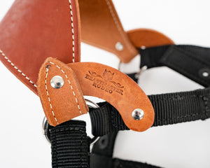 Beastmaster Junior Saddle Bronc Nylon Halter Connector