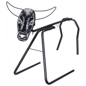 Quick Release Steer Head on Metal Stand