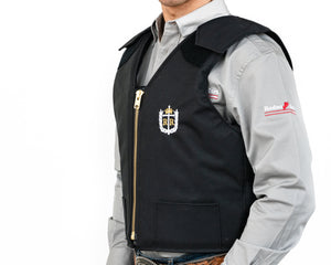 Ride Right Adult Competitor Rodeo Vest Left Side