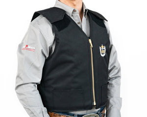 Ride Right Adult Competitor Rodeo Vest Right Side