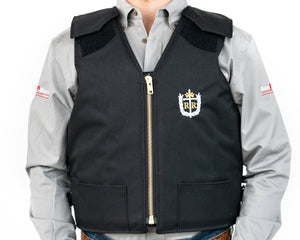Ride Right Adult Competitor Rodeo Vest Front