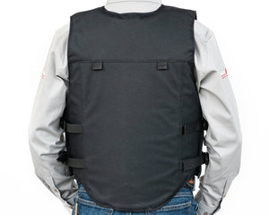 Ride Right Adult Competitor Rodeo Vest Back