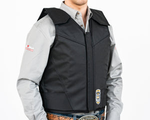 Ride Right Flex Thin Pro Adult Rodeo Vest - Hydrotuff Right Side