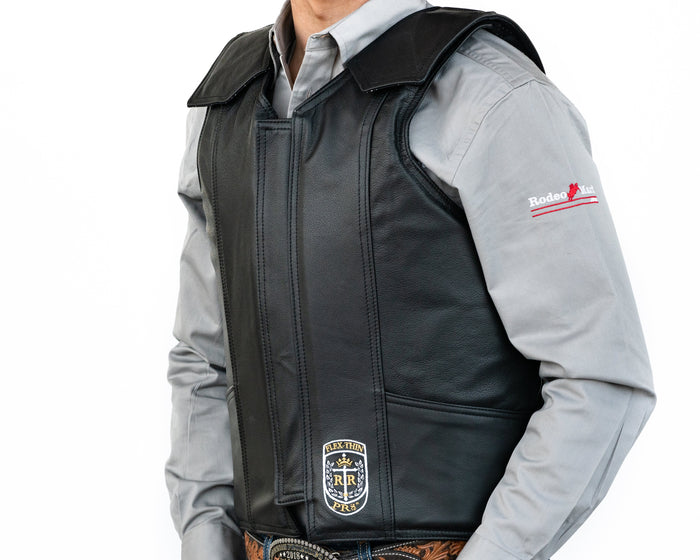 Ride Right PR8 Bull Riding Vest - Leather