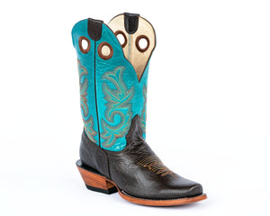 Beastmaster Rough Stock Boot - Turquoise