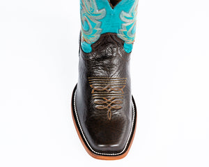 Beastmaster Rough Stock Boot - Turquoise Toe
