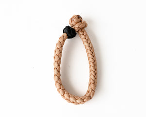 Tan Small Braided Rope Keeper