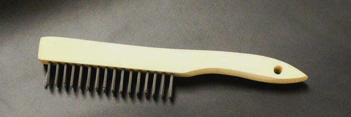Steel Bristle Brush