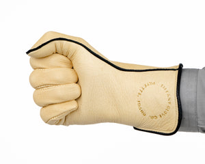 Tiffany Regular Cuff Bull Riding Glove in a Fist Front