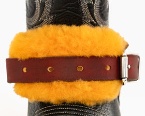 Ultimate Sheep Skin Spur Strap Covers