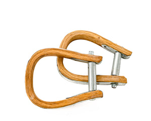 Junior Wood Saddle Bronc Stirrups