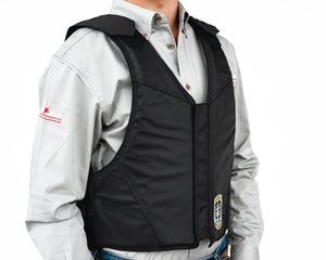 Ride Right Wright Western Saddle Bronc Vest - Hydrotuff Right Side