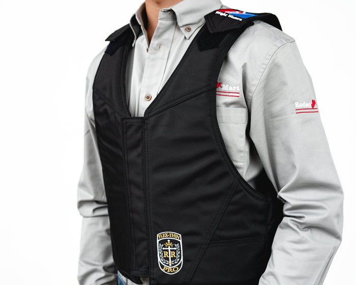 Ride Right Wright Western Saddle Bronc Vest - Hydrotuff