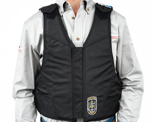 Ride Right Wright Western Saddle Bronc Vest - Hydrotuff Front