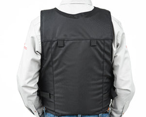 Ride Right Wright Western Saddle Bronc Vest - Hydrotuff Back