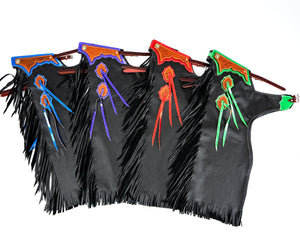 Youth Rodeo Chaps with No Leg Design All Colors