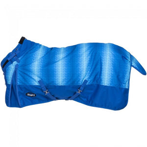 Tough1 1200D Chevron Turnout Blanket w/ Snuggit Neck