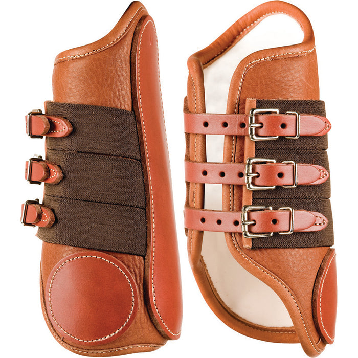 Cactus Wrap-Around Leather Splint Boot