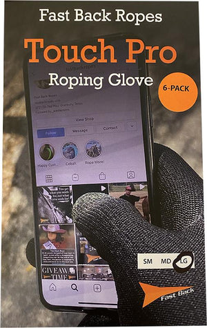 FAST BACK TOUCH PRO ROPING GLOVES