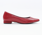 Jane Autumn Flat 2.0 - Ruby Red
