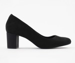 All Day & Night Block Heel - Black