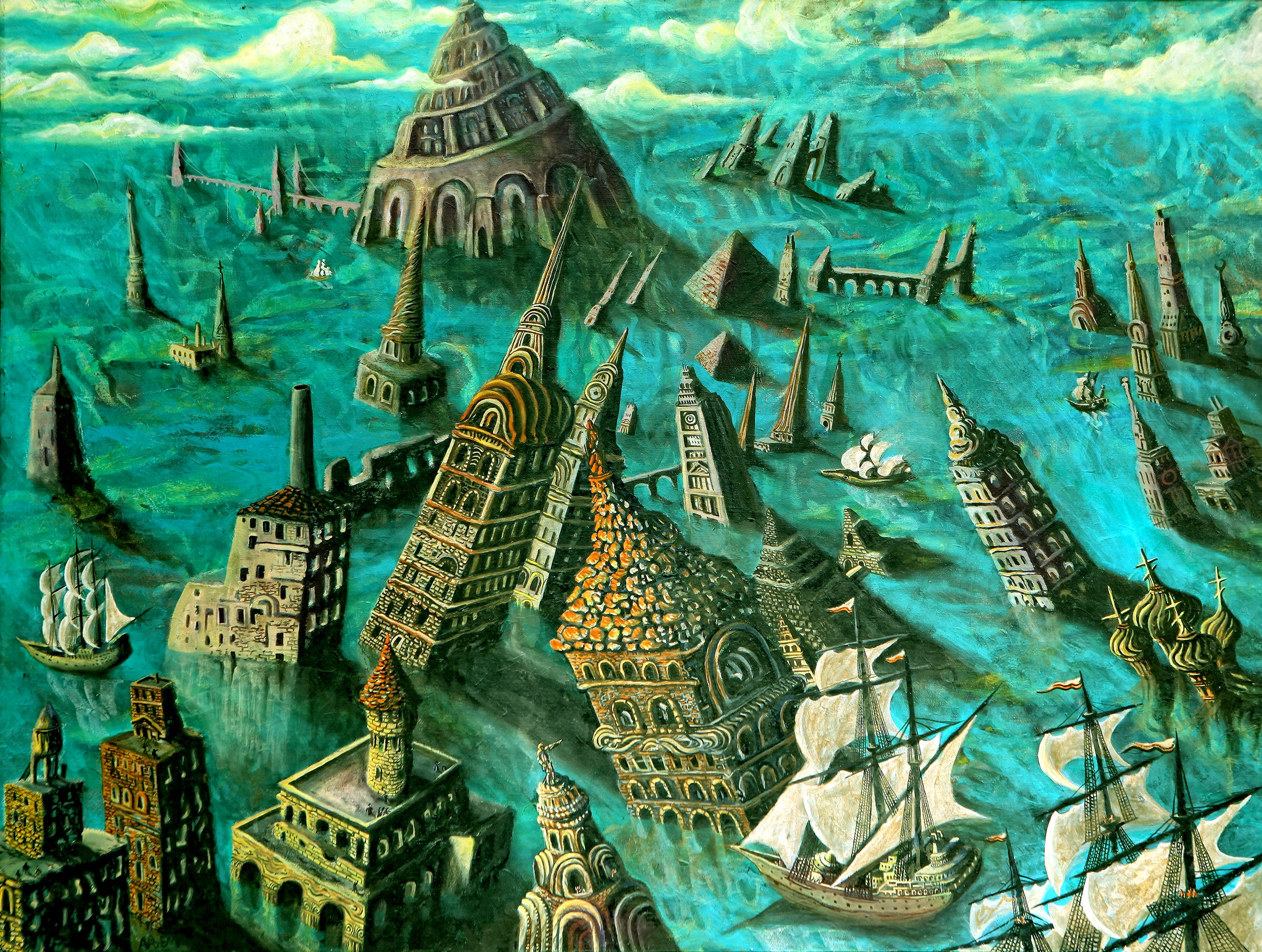 Sunken Babel City